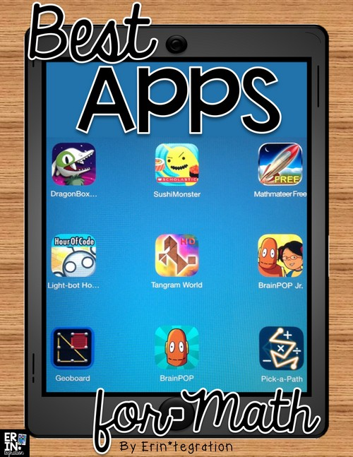 Check out this interactive list of student-tested and approve Math Apps for the elementary classroom!