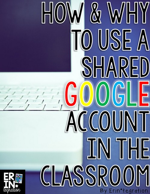 Create a shared classroom Google Account to use for students to log into sites safely and share one Google Drive account if you do not have access to Google Classroom. Learn how, why, and how to apply a free classroom Google Account into your K-5 classroom!
