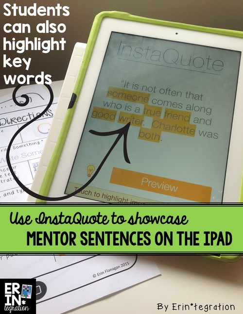 Highlight key words with instaquote