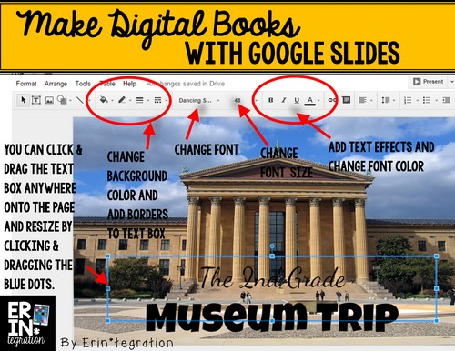 Make digital books with Google Slides
