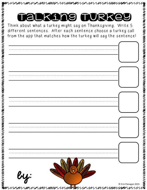 Thanksgiving free download for ipad activity using free turkey calling apps. Check it out!