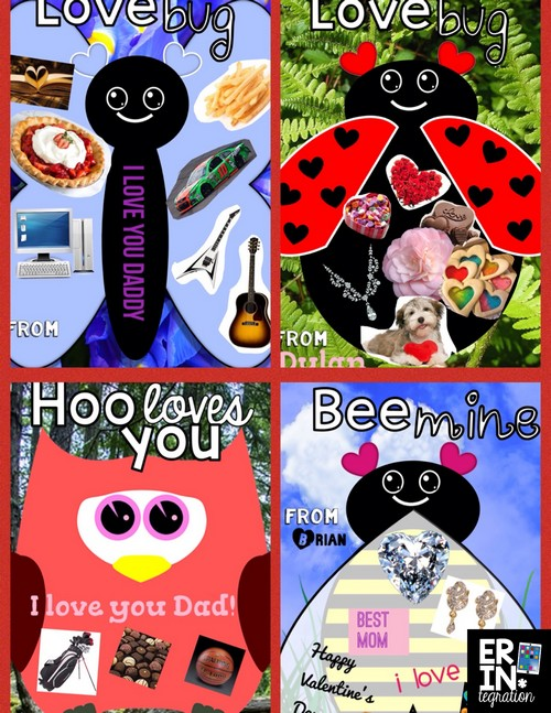 Valentine's Day technology integration ideas for the elementary classroom. Creative ways to use iPads, PCs, and Chromebooks that your students will LOVE! Like making digital Valentines with PicCollage.