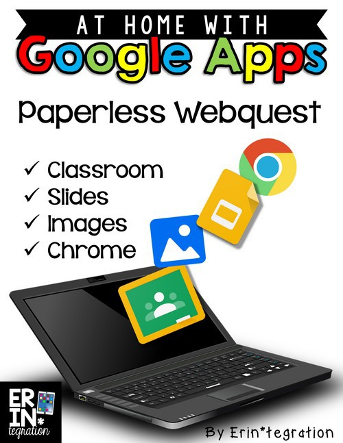 PAPERLESS WEBQUEST ON GOOGLE SLIDES