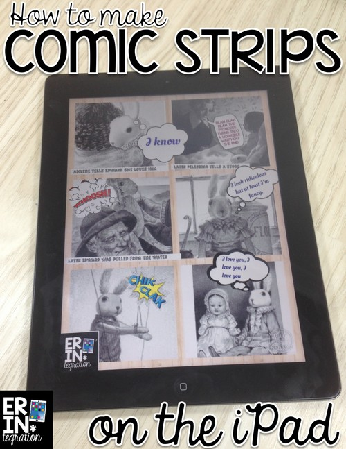 Use the free iPad app PicCollage to make digital comics on the iPad. Is there anything this awesome app can't do?
