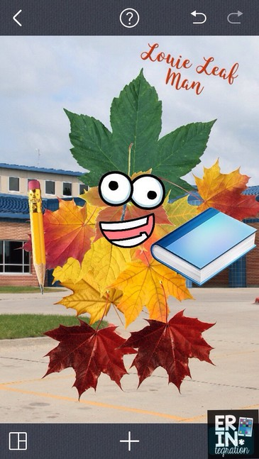 Technology integration for fall! Have students use the free iPad app PicCollage to make a digital leaf man! Step by step instructions and lesson suggestions.