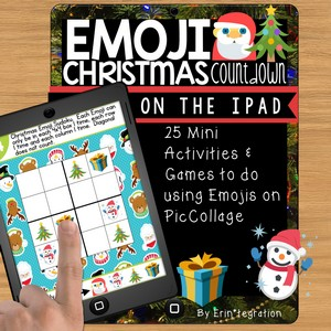 Erintegration Emoji Christmas Countdown iPad