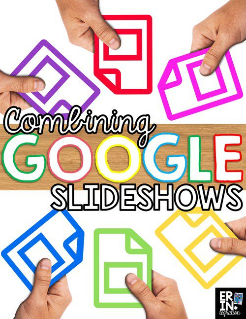 Learn how to quickly and easily combine multiple slides from student slideshows into one large slideshow with Google Slides. Perfect for sharing results of Google Scoot, Google Interactive Notebooks and other Google Slides activities in the classroom. Directions include options for Google Classroom and Google Drive.