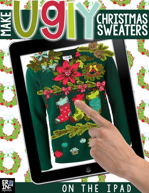 DESIGN AN UGLY CHRISTMAS SWEATER ON THE IPAD