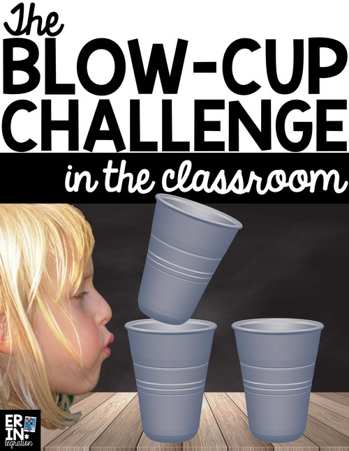 Learn how to integrate the Blow Cup Challenge in the classroom with this engaging STEM project and lesson plan that incorporates math and science standards. STEM Challenge, STEM lessons for elementary, STEM lessons for middle school, scientific method, graphing, data collection, science vocabulary, STEM activities in the classroom.