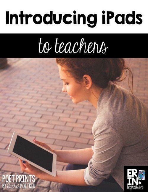 INTRODUCING IPADS TO TEACHERS
