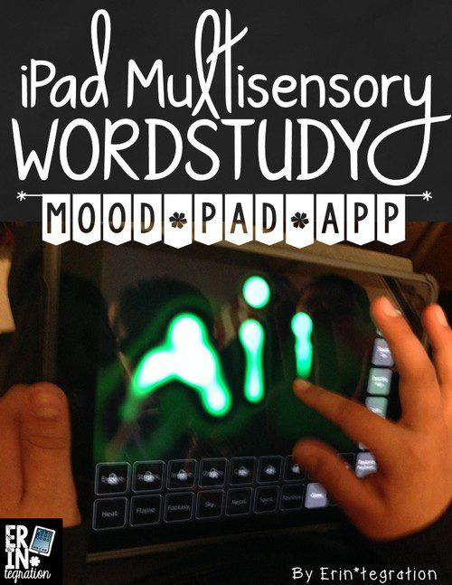 MULTISENSORY WORD WORK ON THE IPAD