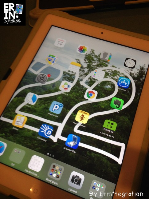 Learn how to use the valuable iPad wallpaper space with iPad backgrounds and lockscreens that organize classroom iPads and reinforce rules for using them.