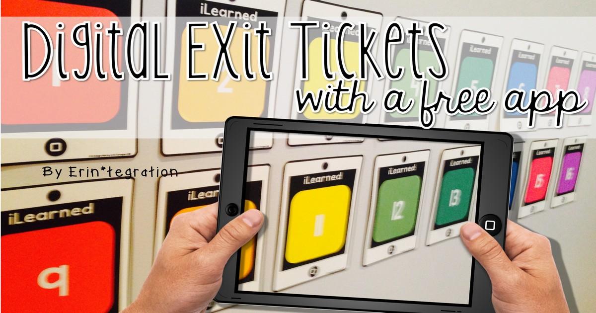 Post It Plus App For Digital Exit Tickets
