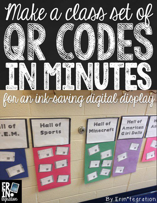IPAD PROJECT DISPLAY – MAKING QR CODES THAT LINK TO IMAGES