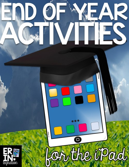 End of Year iPad activities