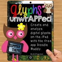 ipad glyph summer theme
