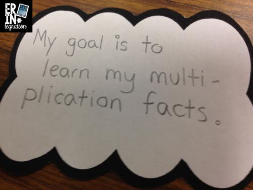 iPad paper craft for exploring goals using the free app Paper Chibi