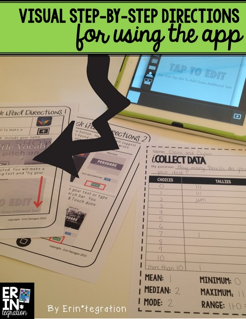 Back to school iPad activity: Use Haiku Deck to display graphing project