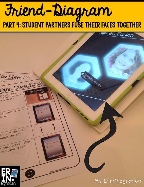 Back to school iPad activity: Use the Face Fusion app to morph faces