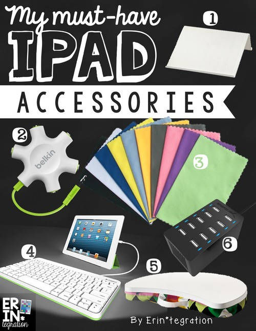 My must-have ipad accessories for the classroom