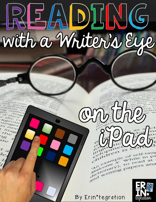 Reading with a writer's eye on the iPad