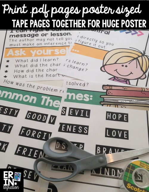 Making poster sized anchor charts from .pdf