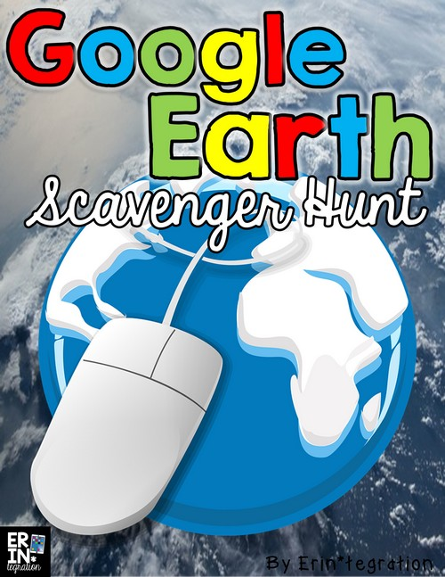 Image result for google earth scavenger hunt