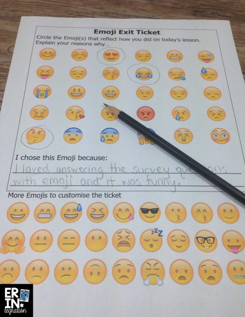 10 ways to utilize emojis in the classroom - includes free downloads and tons of ideas!