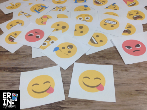 10 ways to utilize emojis in the classroom - includes free downloads (like these FREE matching cards) and tons of ideas!