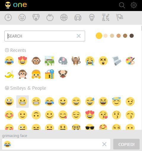 emoji plug in