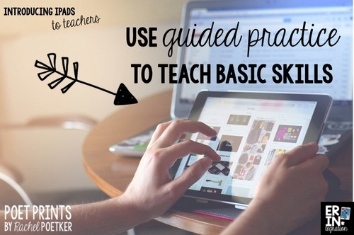 Tips for introducing iPads to teachers.