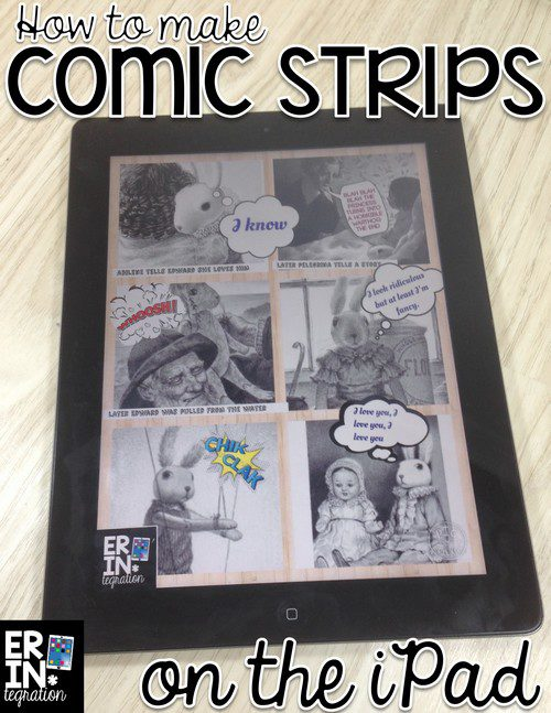 DIGITAL COMICS ON THE IPAD WITH PICCOLLAGE