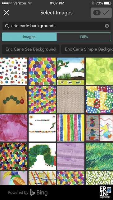 How to use the free iPad app Pic Collage in the elementary classroom to create a digital collage inspired by Eric Carle. Perfect for an author study project or a paperless craft after reading an Eric Carle book.