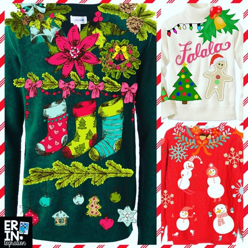 DESIGN AN UGLY CHRISTMAS SWEATER ON THE IPAD -