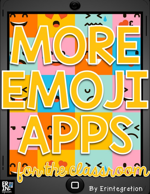Check out this list of even more FREE Emoji iPad Apps and how to use them in the classroom. Apps can be used in a reading or math center or as a fun break break. Plus learn why using Emoji iPad Apps in the classroom and exposing students to Emojis is important.