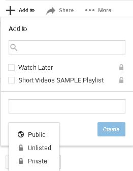 how to make a youtube playlist quickly