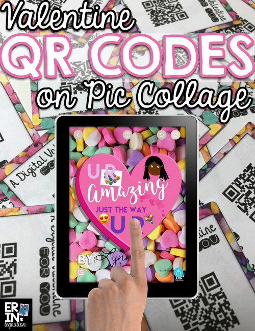 MAKE QR CODES WITH THE PIC COLLAGE COPY LINK