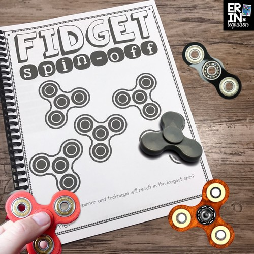 Fidget spinners in the classroom stem project erintegration fidget spinners in the classroom driving you crazy try these high interest activities solutioingenieria Image collections