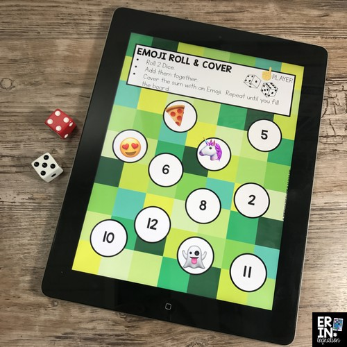 Learn how to use the fabulous iPad app Pic Collage to create game boards or play games right on the app. Plus get access to a FREE GAME BOARD to try now! Pic Collage in the classroom, technology lessons, iPad activities, Free download, Pic Collage activities, Emojis in the classroom