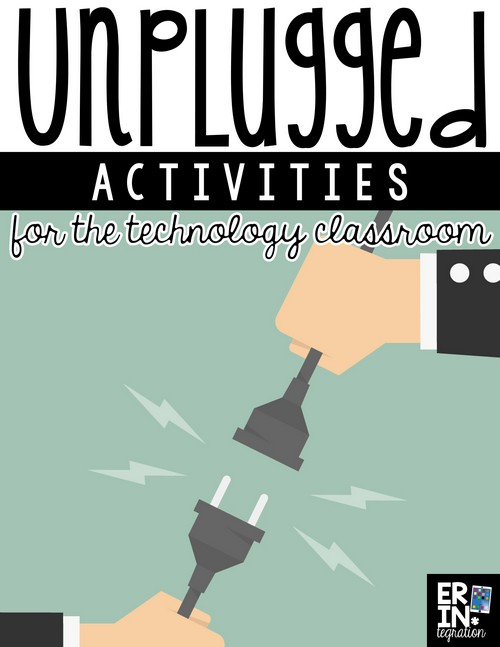 Check out this list of technology unplugged activities for tech-free computer science learning during testing weeks, subs or days when the wifi is down!