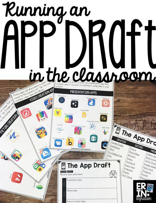 HAVE AN IPAD APP DRAFT IN THE CLASSROOM