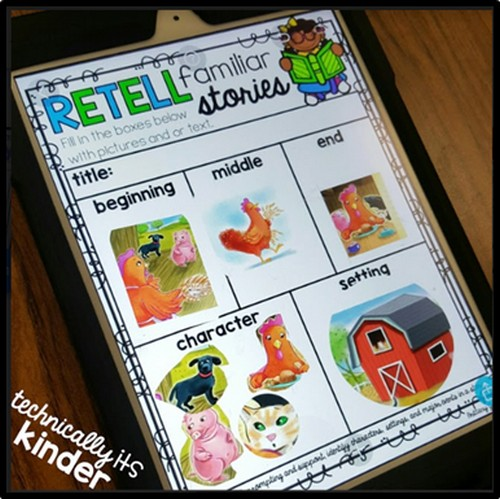 USING SEESAW AND PICCOLLAGE WITH KINDERS -
