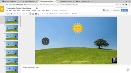 Erintegration Google Stop Motion Eclipse