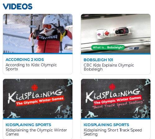 Winter Games for Kids Videos