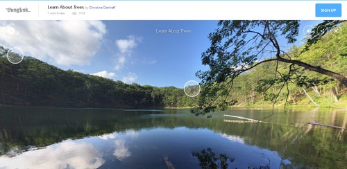 Erintegration Earth Day Technology Projects and Activities: Using ThingLink 360 for Earth Day Projects
