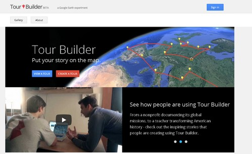 Erintegration Earth Day Technology Projects and Activities: Using Google Tour Builder for Earth Day