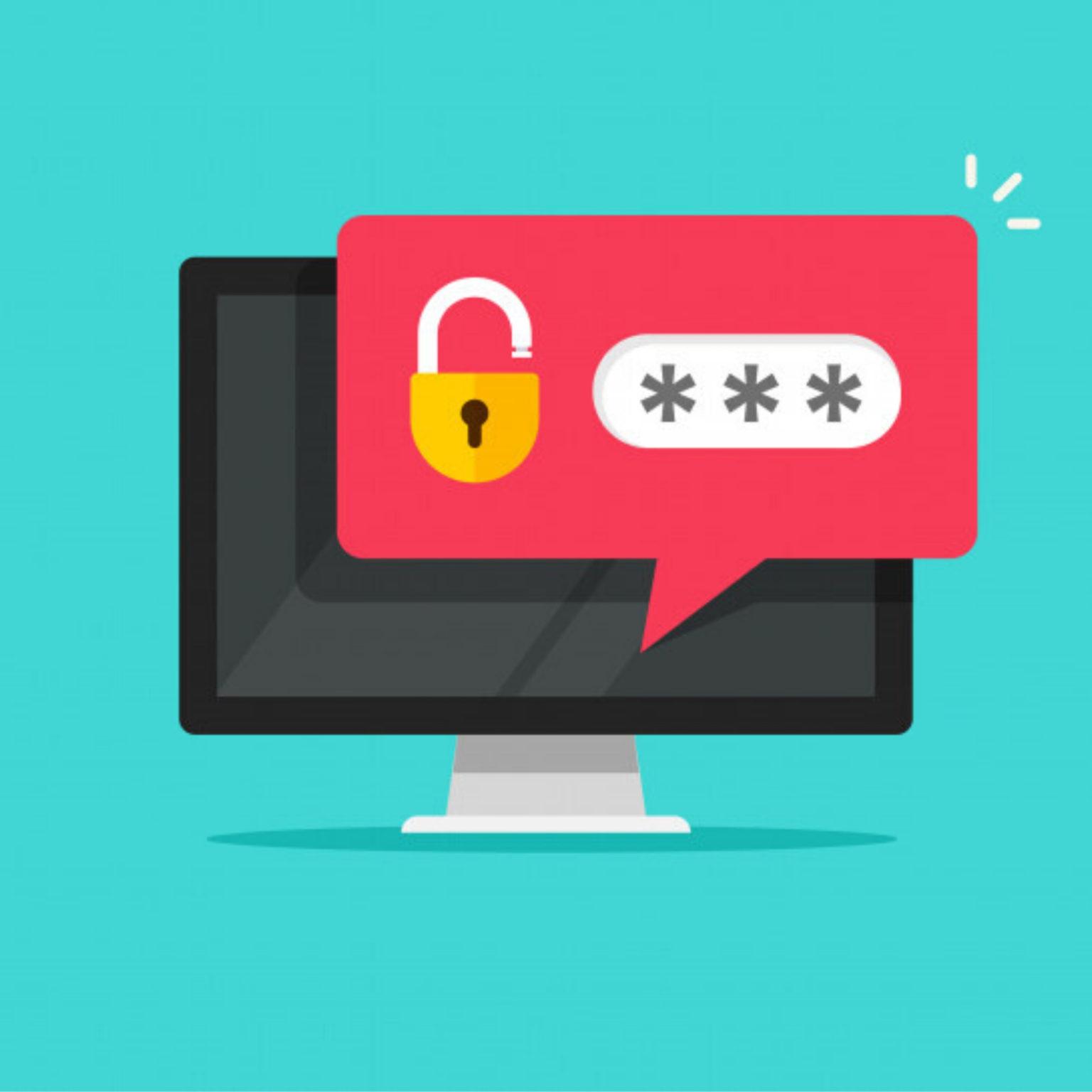digital breakout lock password prompt