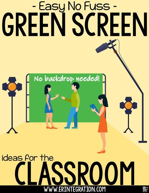 Easy Creative No Fuss Green Screen Ideas for the Classroom