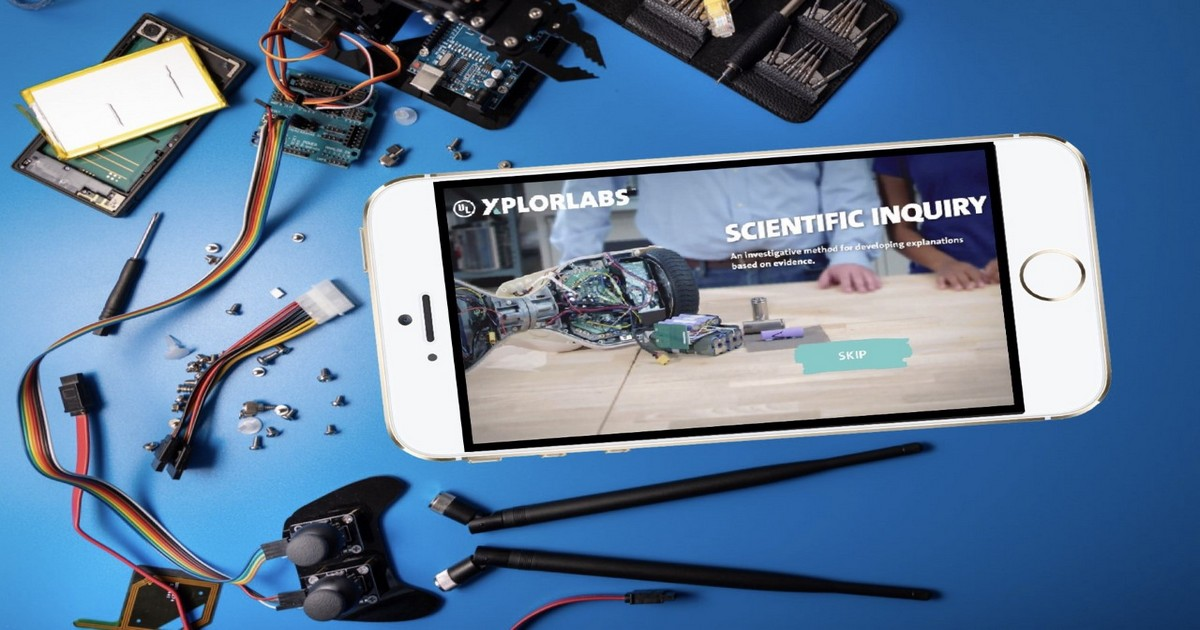 Free STEM Inquiry-Based Learning Using UL Xplorlabs -