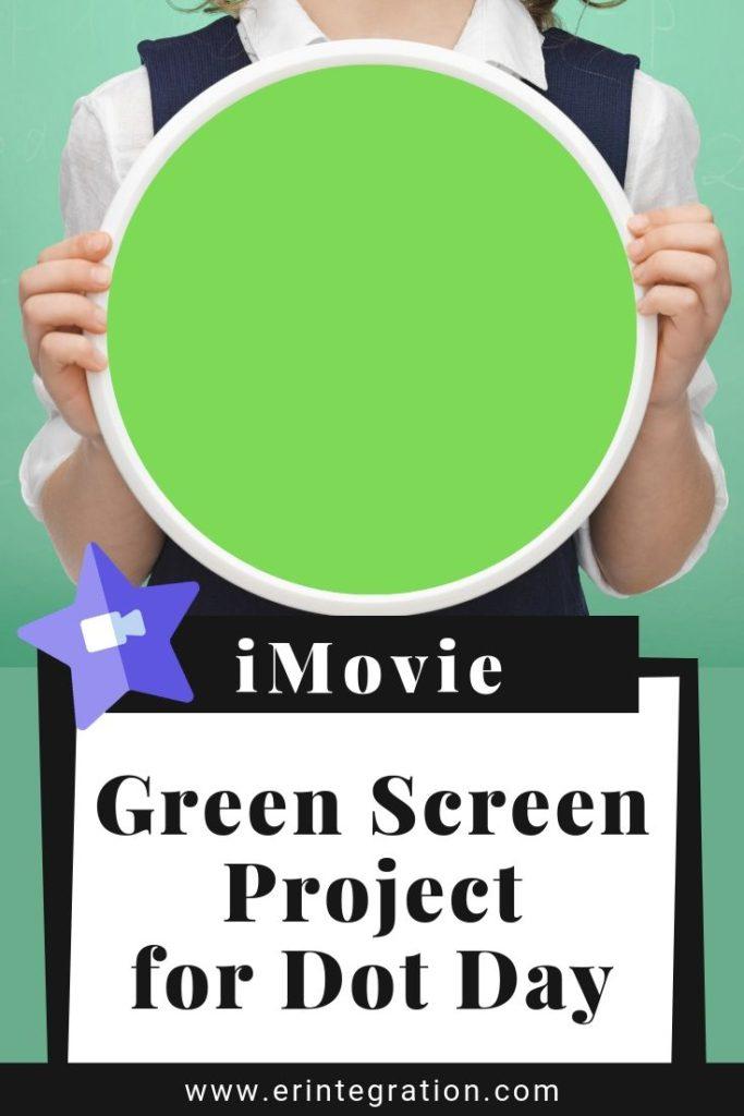 child holding green dot